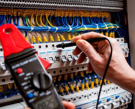 Electrical measurements with multimeter tester. Electrical background